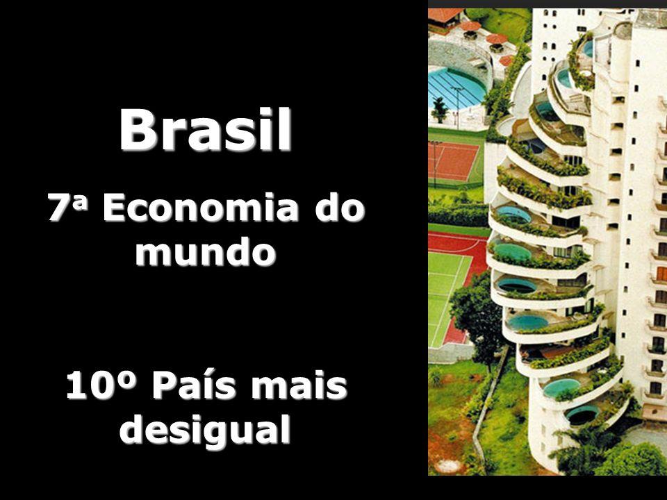 Foto de Luiz Arthur Leirão Vieira (Tuca Vieira) - Paraisópolis Brasil 7 a Economia do mundo 10º País mais desigual