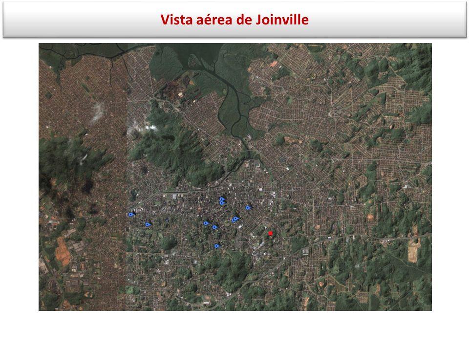 Vista aérea de Joinville