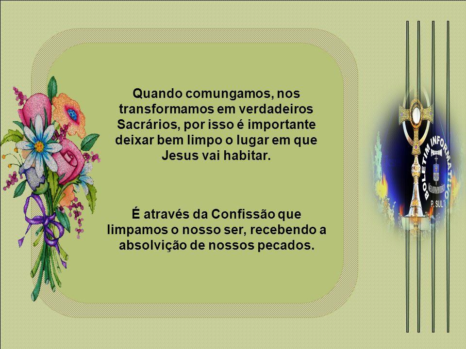 Jesus disse também: Eu sou o pão da vida: aquele que vem a mim não terá fome, e aquele que crê em mim jamais terá sede (Jo 6, 35).