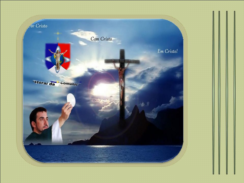 Podemos então concluir que a Eucaristia, que significa Ação de Graças é o alimento da alma.