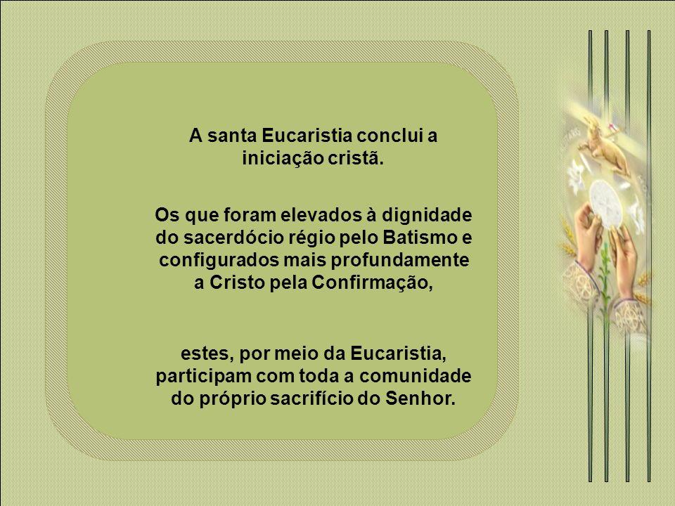 Celebrar a Eucaristia é também uma denúncia contra a falta de fraternidade que existe no mundo; porque na Eucaristia comemos do mesmo pão, quando na vida falta pão para tanta gente.