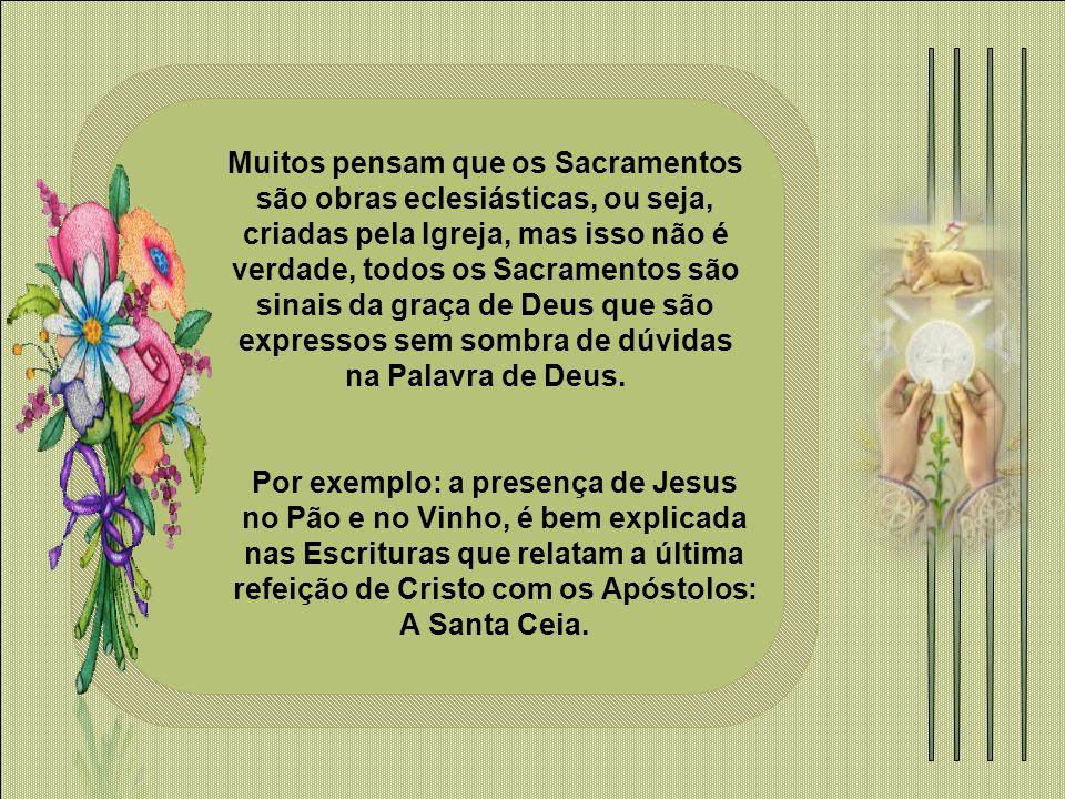Na última ceia, na noite em que foi entregue, nosso Salvador institui o Sacrifício Eucarístico de seu Corpo e Sangue.
