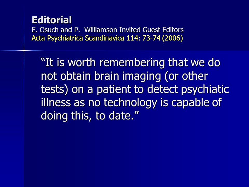 Transtornos Mentais OrgânicosFuncionais