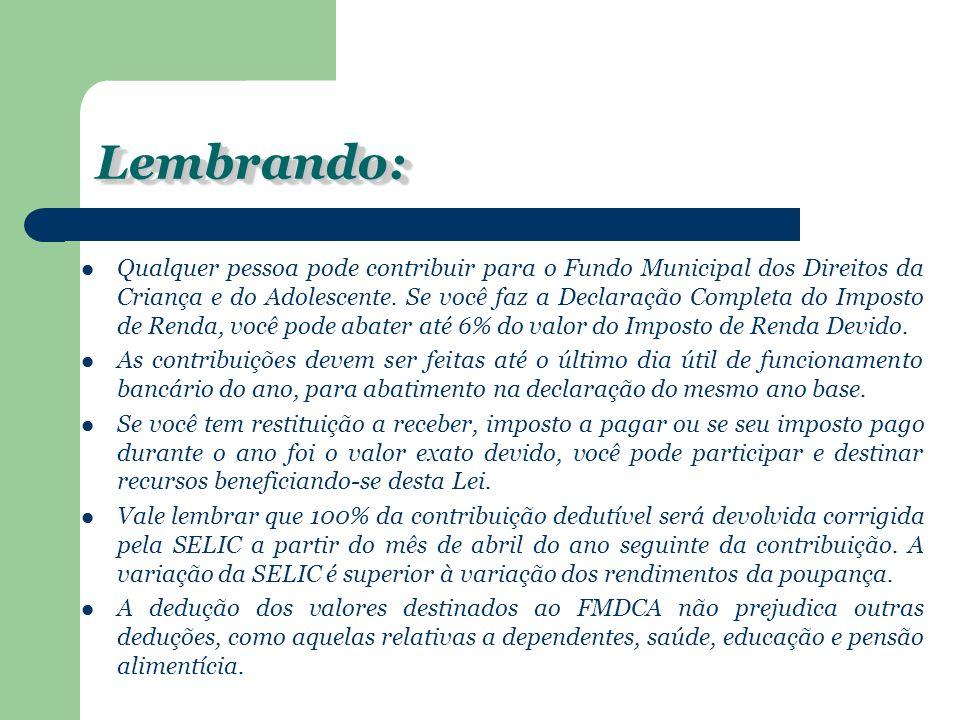 CONTATOSCONTATOS O COMDICA está situado na Rua Francisco Schneider, 512 – Centro Social Urbano.