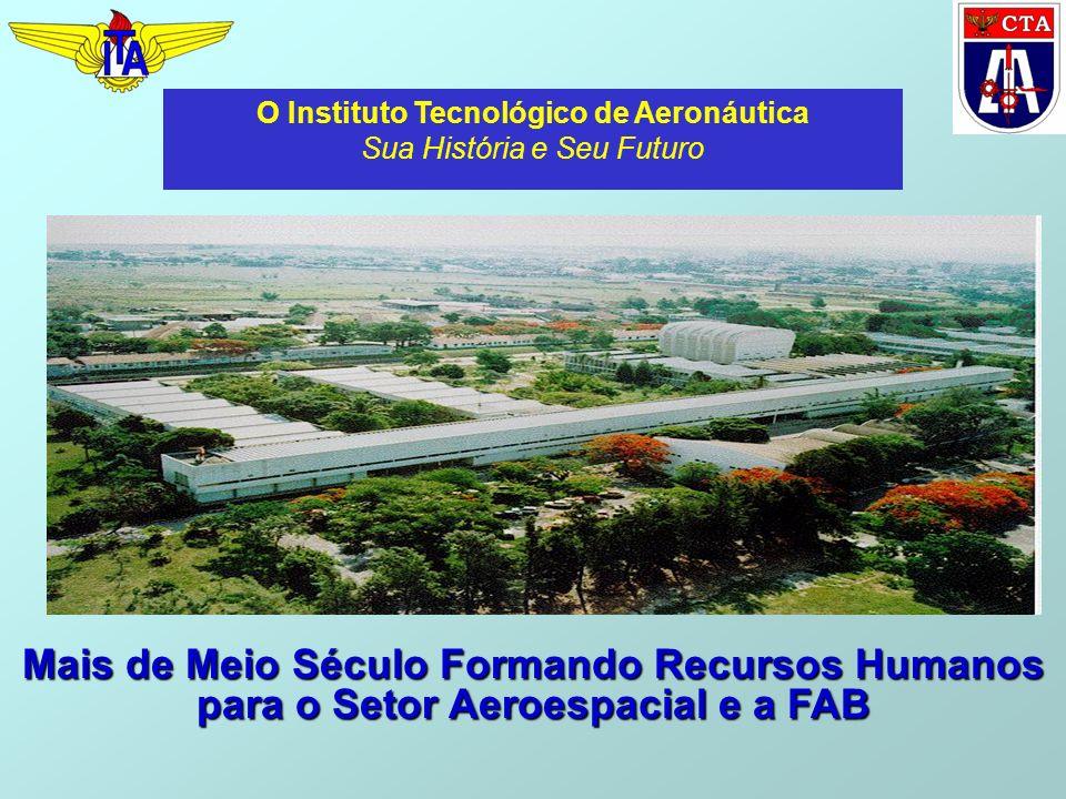 Mais de Meio Século Formando Recursos Humanos para o Setor Aeroespacial e a FAB O Instituto Tecnológico de Aeronáutica Sua História e Seu Futuro