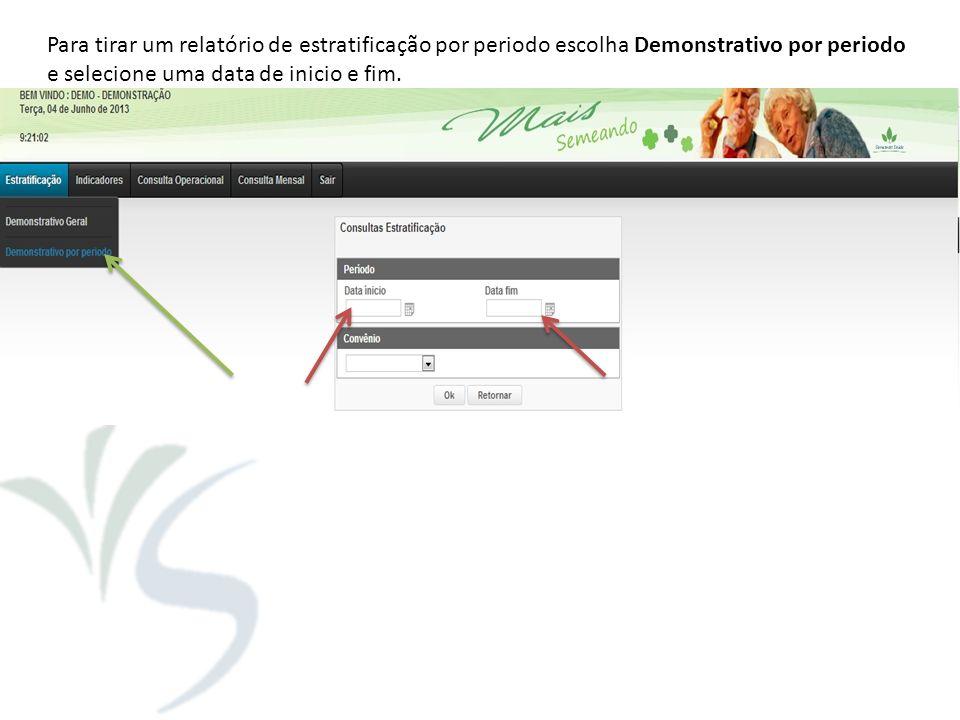 Menu >> Consulta Operacional >> Alta Clínica