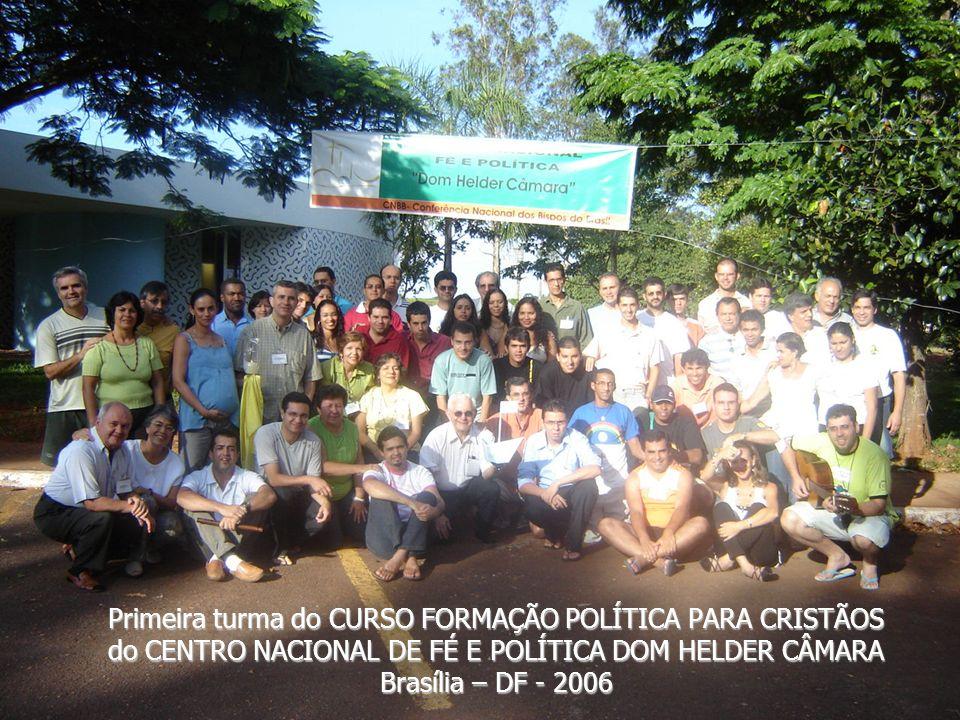 REPERCUSSÃO NO BRASIL Diversos Grupos de Fé e Política foram se multiplicando por todo o Brasil. Vários encontros e Seminários sobre Fé e Política for