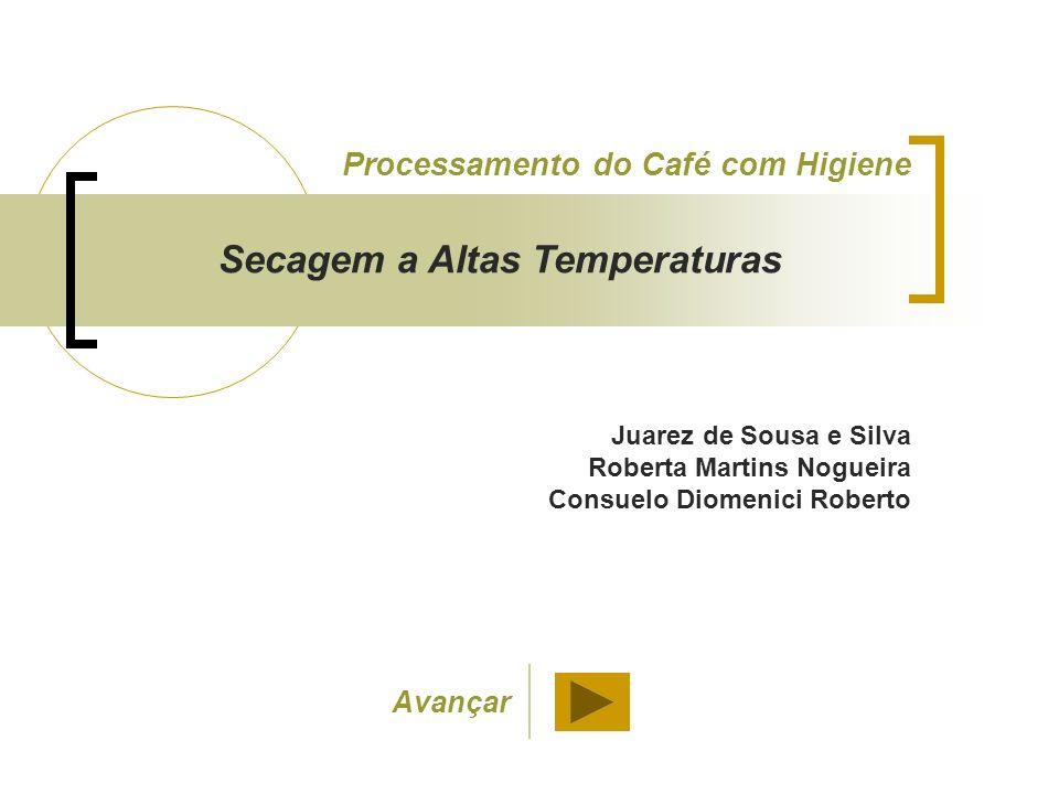 Juarez de Sousa e Silva Roberta Martins Nogueira Consuelo Diomenici Roberto Processamento do Café com Higiene Secagem a Altas Temperaturas Avançar