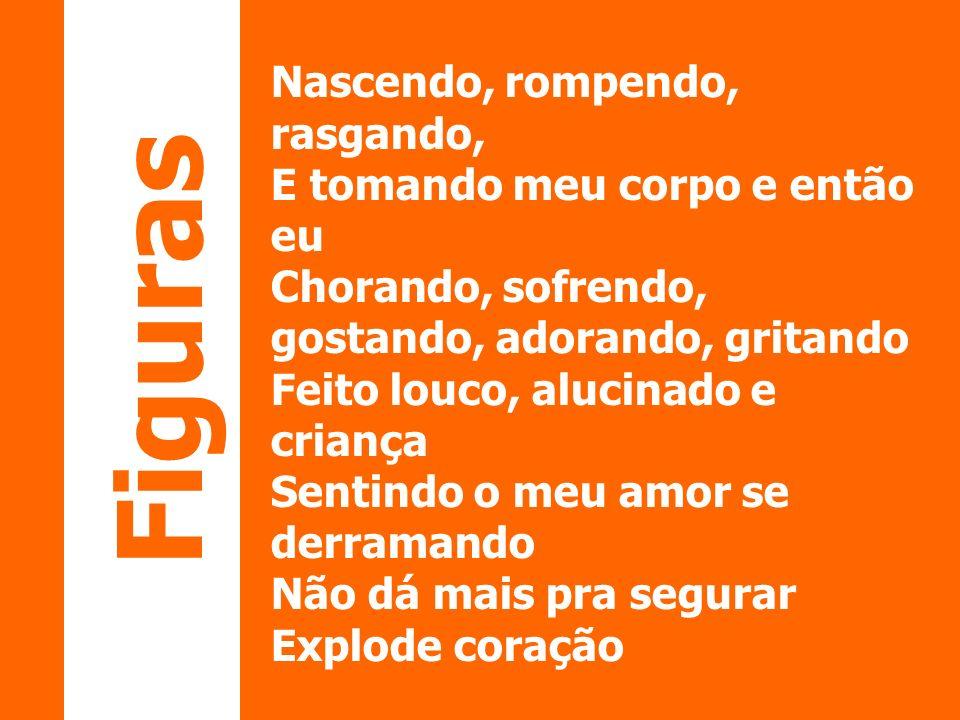 FIGURAS DE PALAVRAS Metáfora: assim como a comparação, consiste numa relação de semelhança de qualificações.
