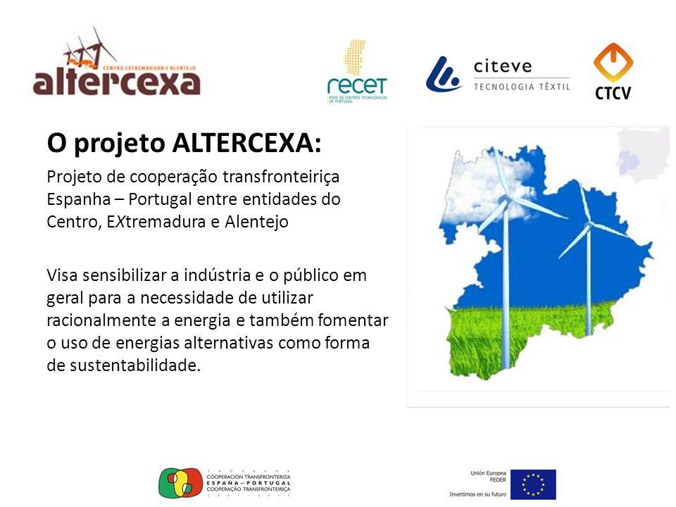 O projeto ALTERCEXA: Projeto de cooperação transfronteiriça Espanha – Portugal entre entidades do Centro, EXtremadura e Alentejo Visa sensibilizar a i