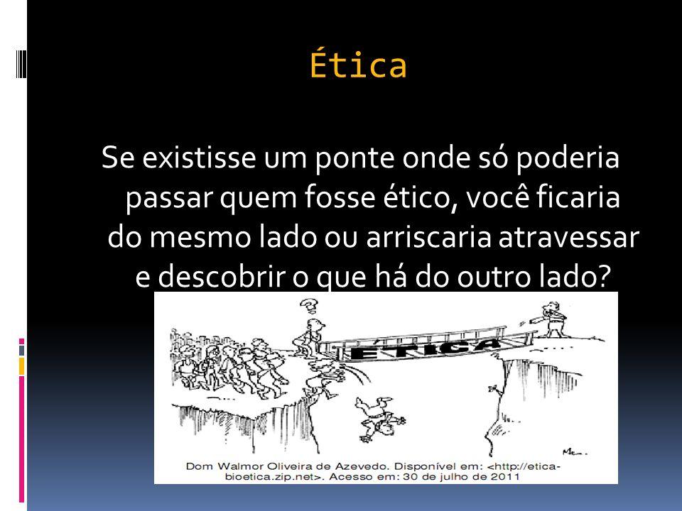 Antiético Você é ético? As pessoas são éticas?