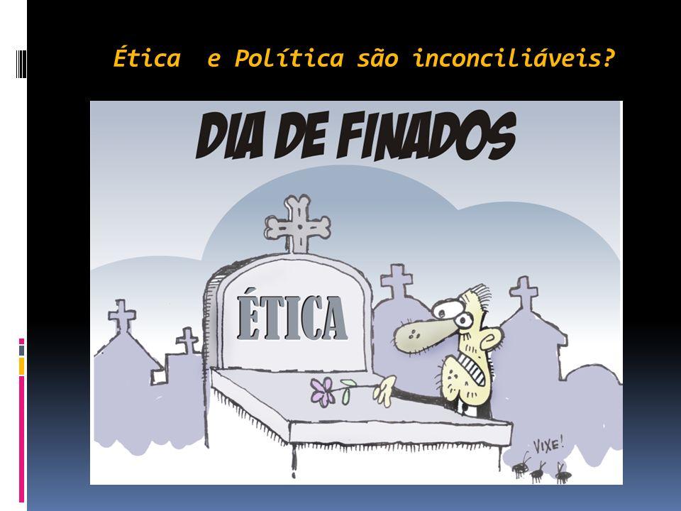 Ética e Política são inconciliáveis? O cientista político italiano, afirma: Não há esfera política sem conflitos. Ninguém pode esperar levar a melhor