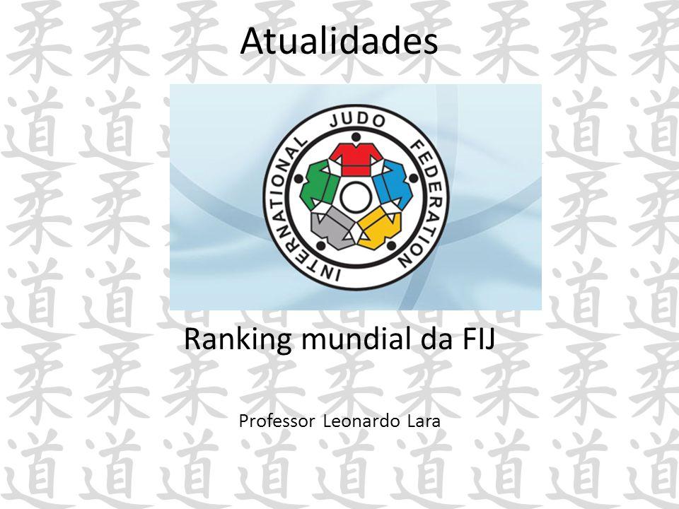 Atualidades Ranking mundial da FIJ Professor Leonardo Lara