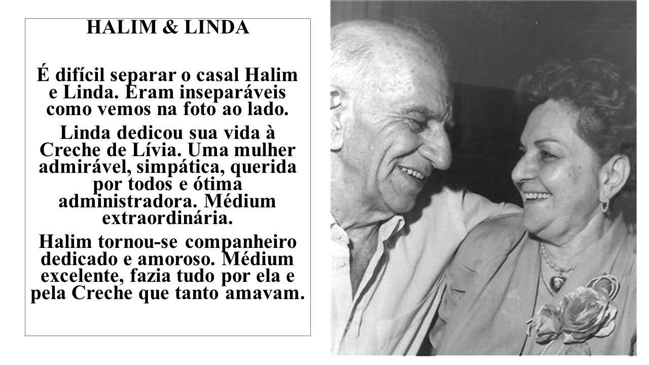 HALIM & LINDA É difícil separar o casal Halim e Linda.