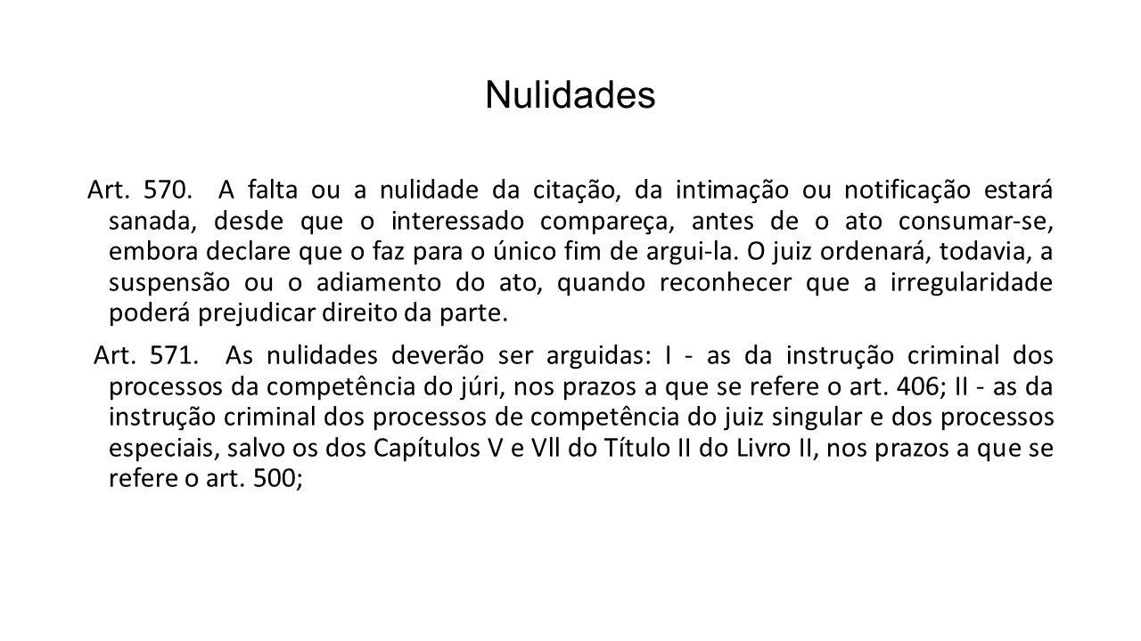 Nulidades Art.570.