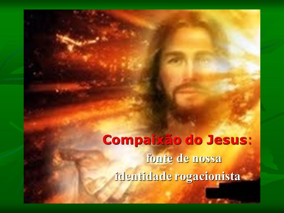 Compaixão do Jesus: fonte de nossa fonte de nossa identidade rogacionista