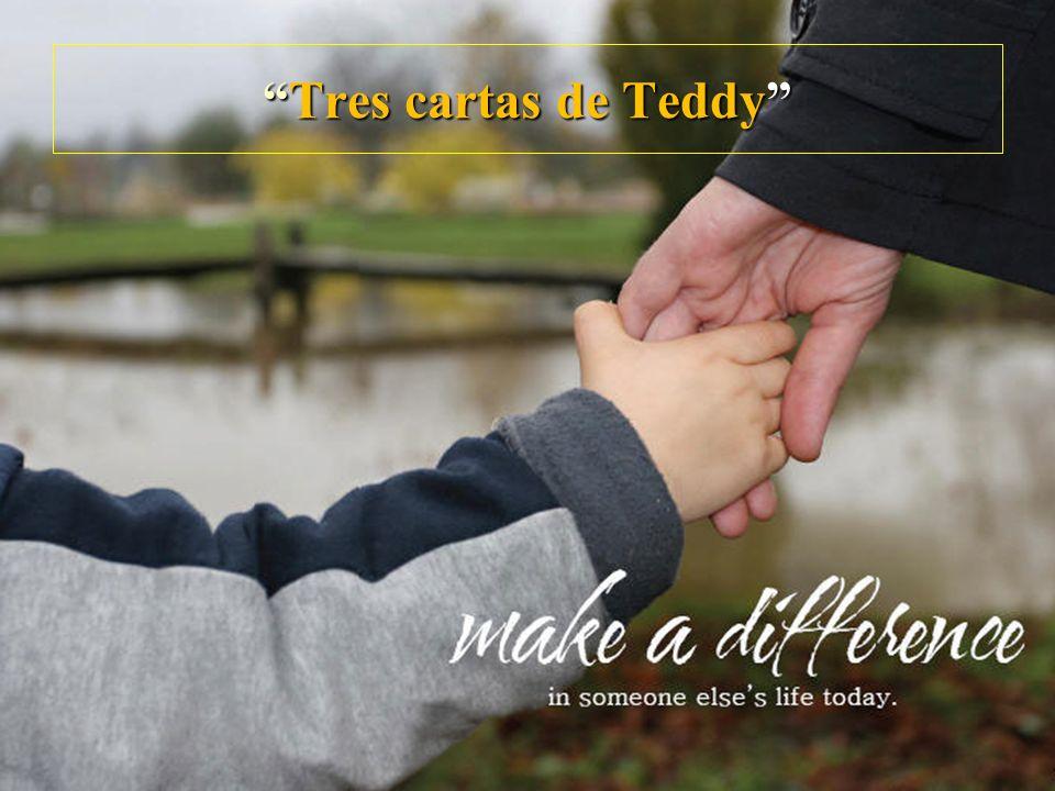 Tres cartas de TeddyTres cartas de Teddy