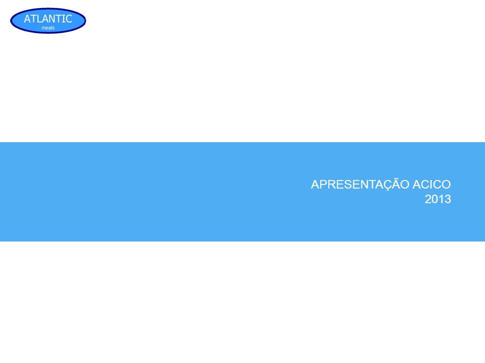 APRESENTAÇÃO ACICO 2013