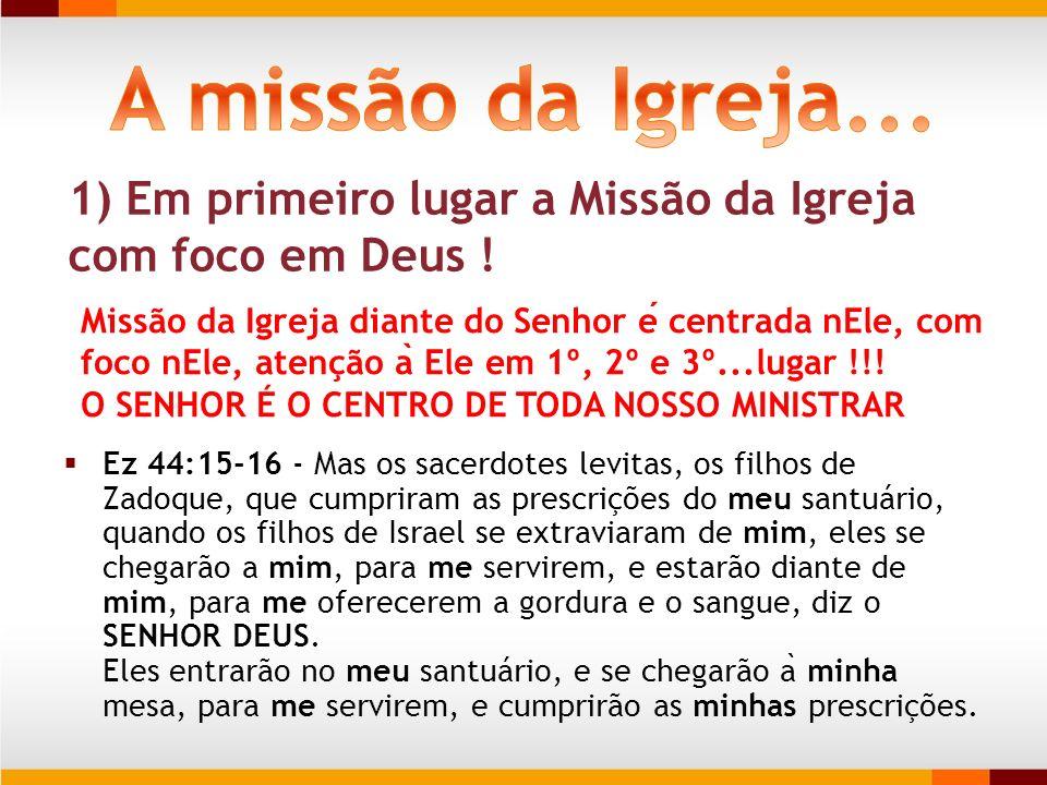 Ez 44:15-16 - Mas os sacerdotes levitas, os filhos de Zadoque, que cumpriram as prescrições do meu santuário, quando os filhos de Israel se extraviara