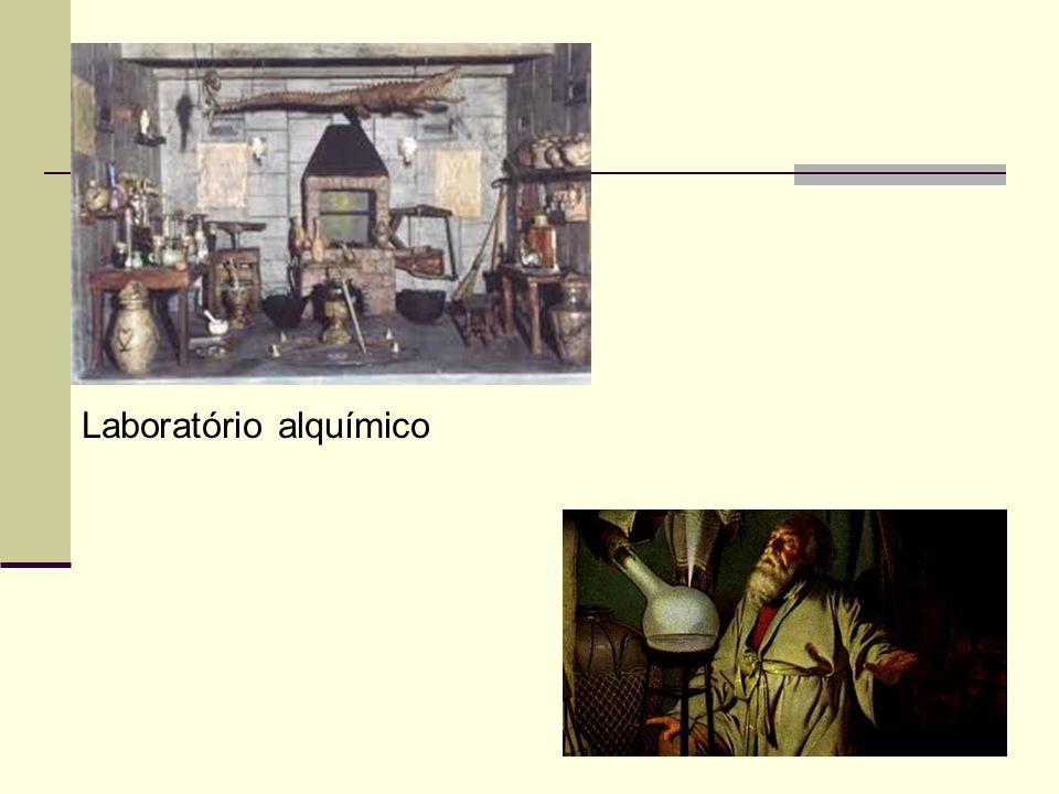 8 Laboratório alquímico