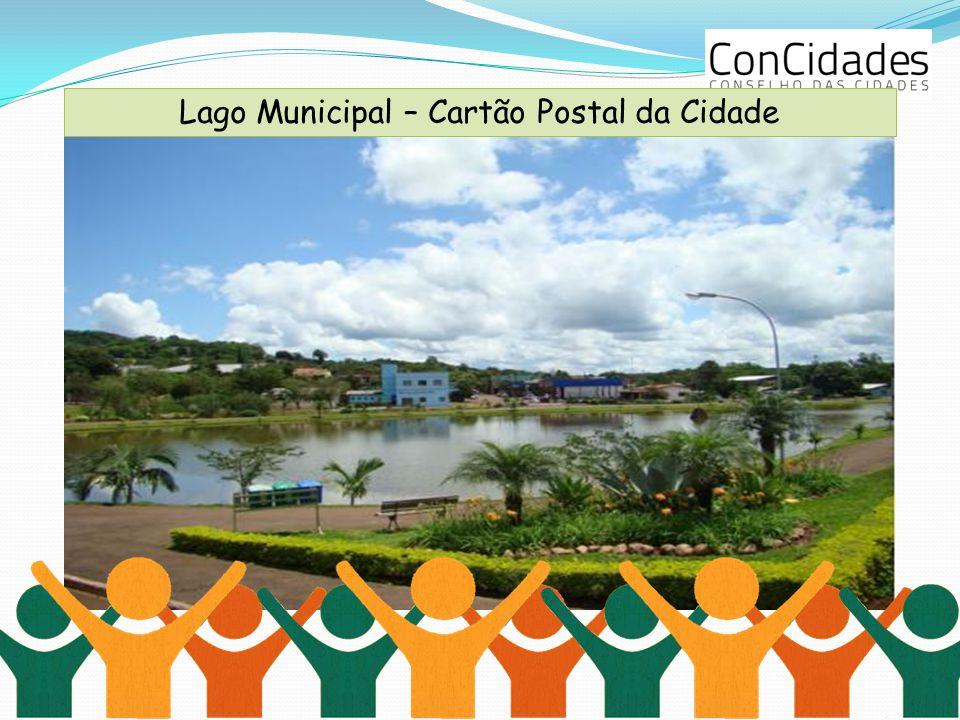 Lago Municipal – Cartão Postal da Cidade