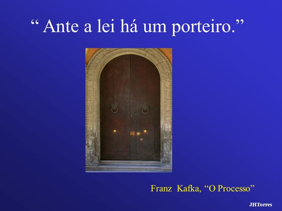 Ante a lei há um porteiro. Franz Kafka, O Processo JHTorres
