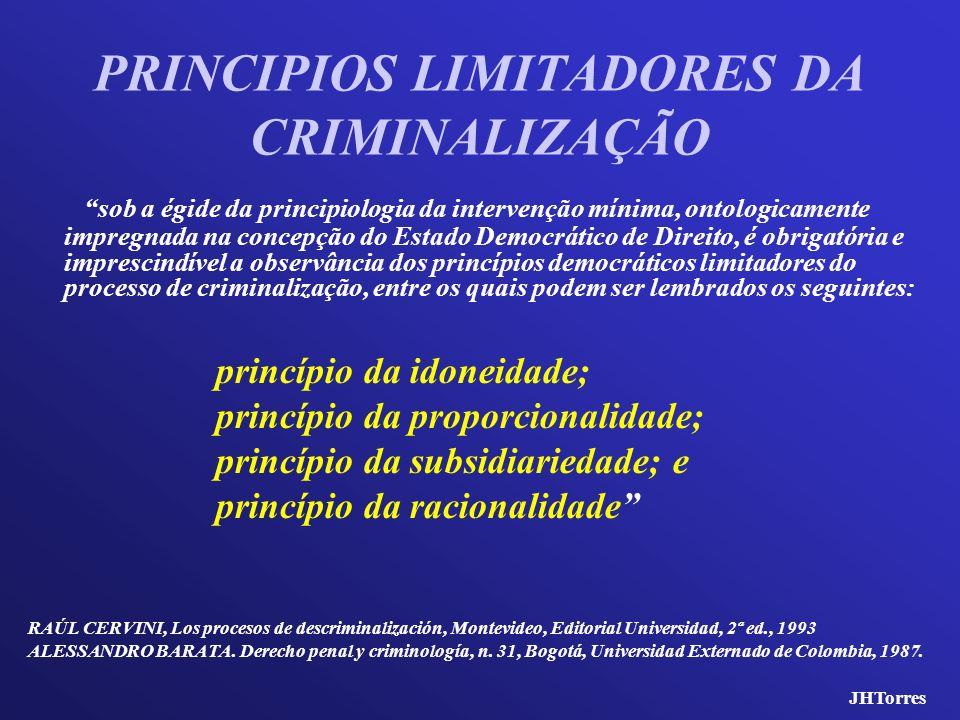 sob a égide da principiologia da intervenção mínima, ontologicamente impregnada na concepção do Estado Democrático de Direito, é obrigatória e impresc