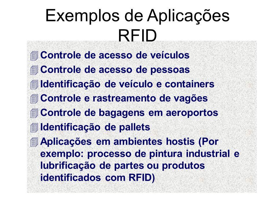 Como é um sistema de RFID.
