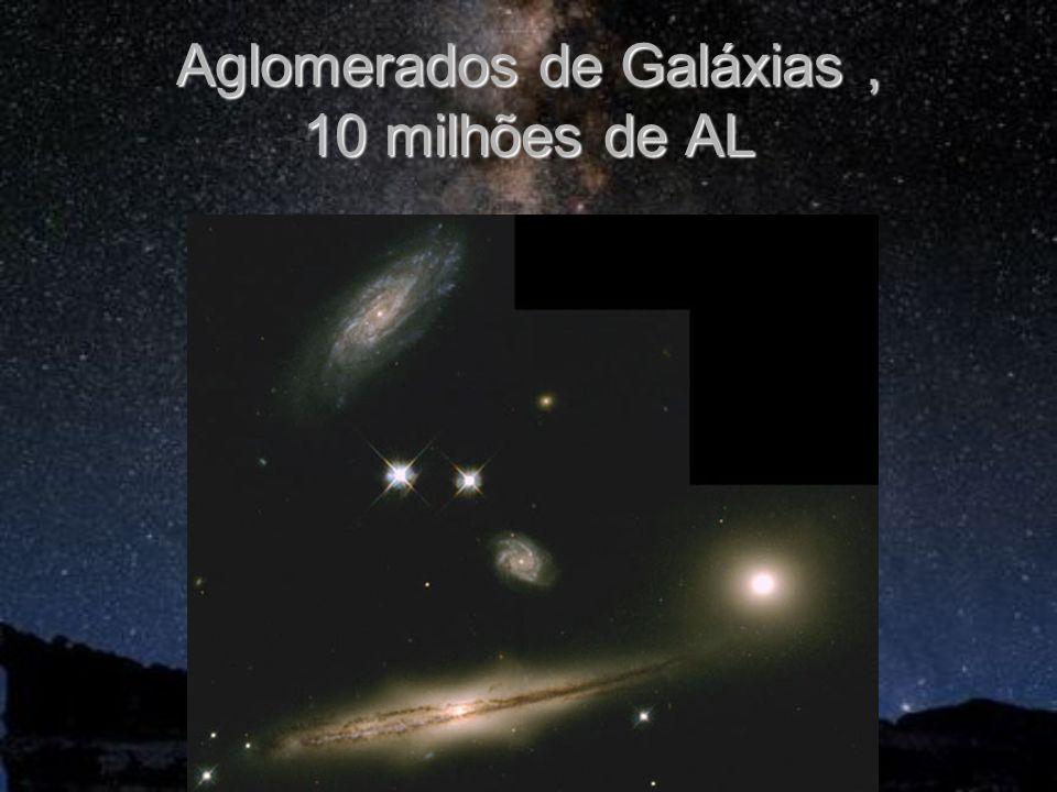 Aglomerados de Galáxias, 10 milhões de AL
