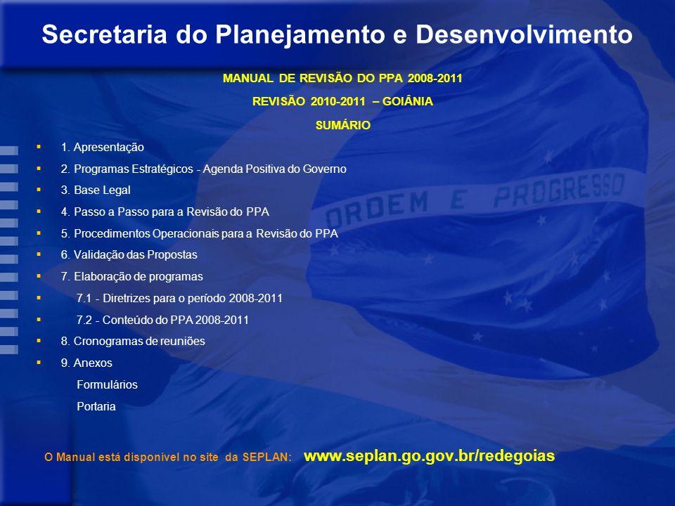 Orientação Estratégica de Governo Modelo de Desenvolvimento Desafios Orientação Estratégica dos órgãos Objetivos Setoriais Priorização de Programas Re