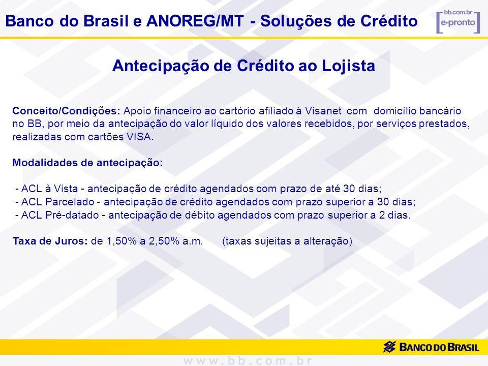 BB Crediário Conceito/Condições: O BB Crediário é uma modalidade de Crédito Direto ao Consumidor – CDC – destinado a clientes pessoas físicas do Banco do Brasil que possuem limite de crédito pré-aprovado.