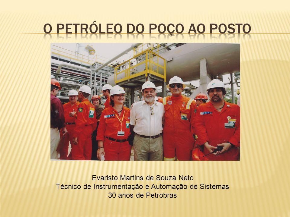 Evaristo Martins de Souza Neto Técnico de Instrumentação e Automação de Sistemas 30 anos de Petrobras