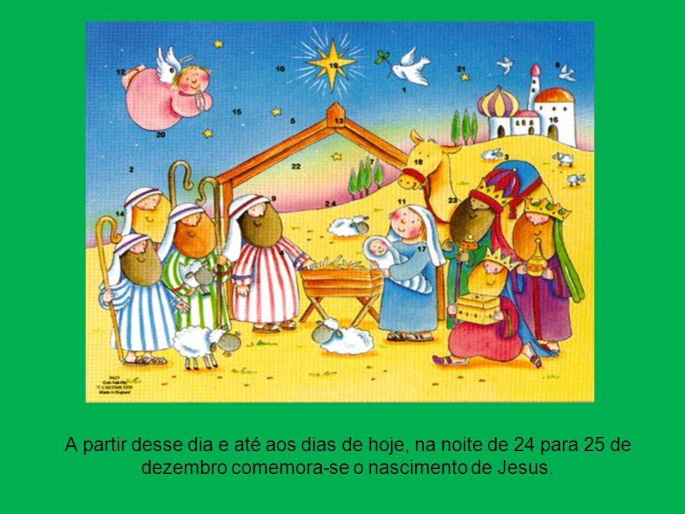 Prestaram homenagem a Jesus, Maria e José e regressaram à sua Terra contentes por terem conhecido o Deus Menino.
