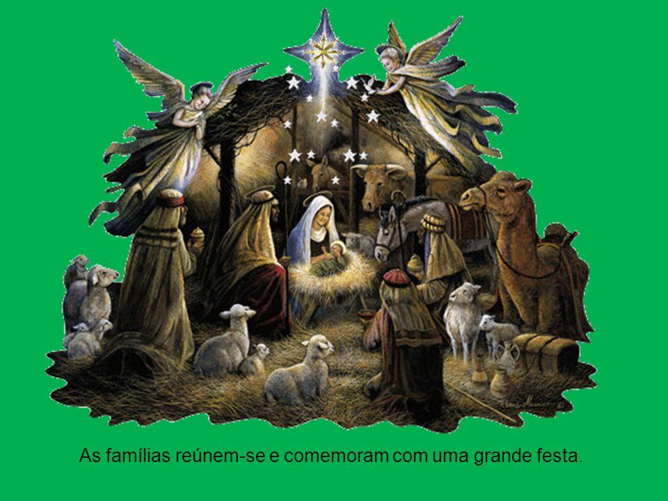 A partir desse dia e até aos dias de hoje, na noite de 24 para 25 de dezembro comemora-se o nascimento de Jesus.