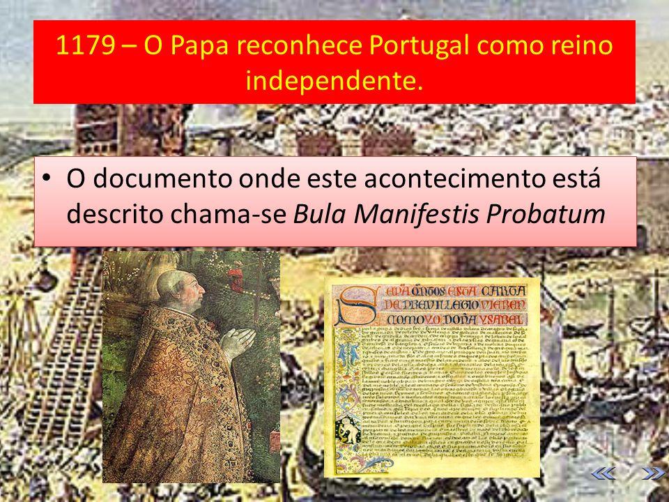 1143 – É assinado o tratado de Zamora Nasce o Reino de Portugal.