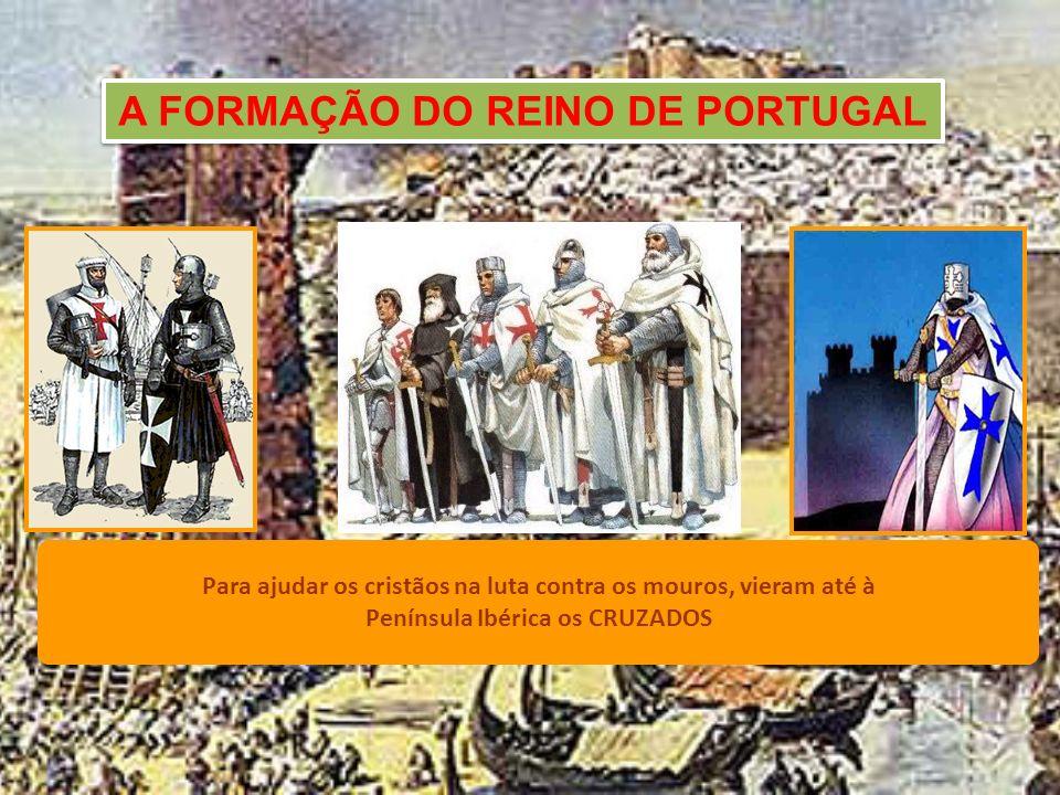 A RECONQUISTA CRISTÃ Os Cristãos, refugiados nas Astúrias, organiza- ram-se para recuperarem as terras perdidas.