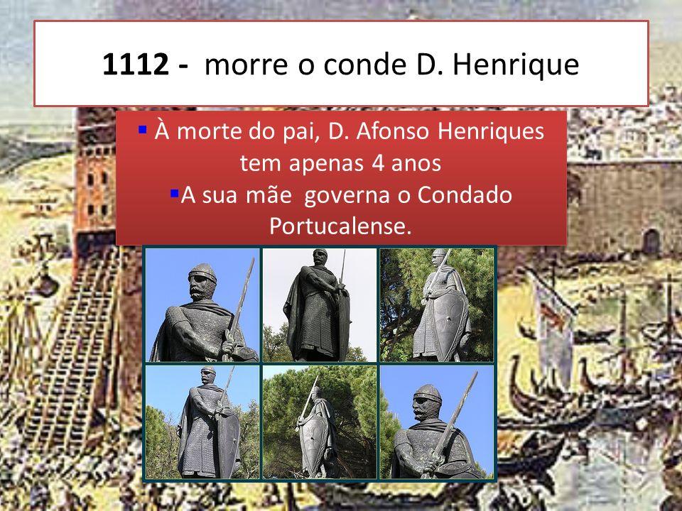A FORMAÇÃO DO REINO DE PORTUGAL D. Afonso VI, rei de Leão, doou o Condado Portucalense ao Conde D. Henrique ficando este na sua dependência O Conde D.