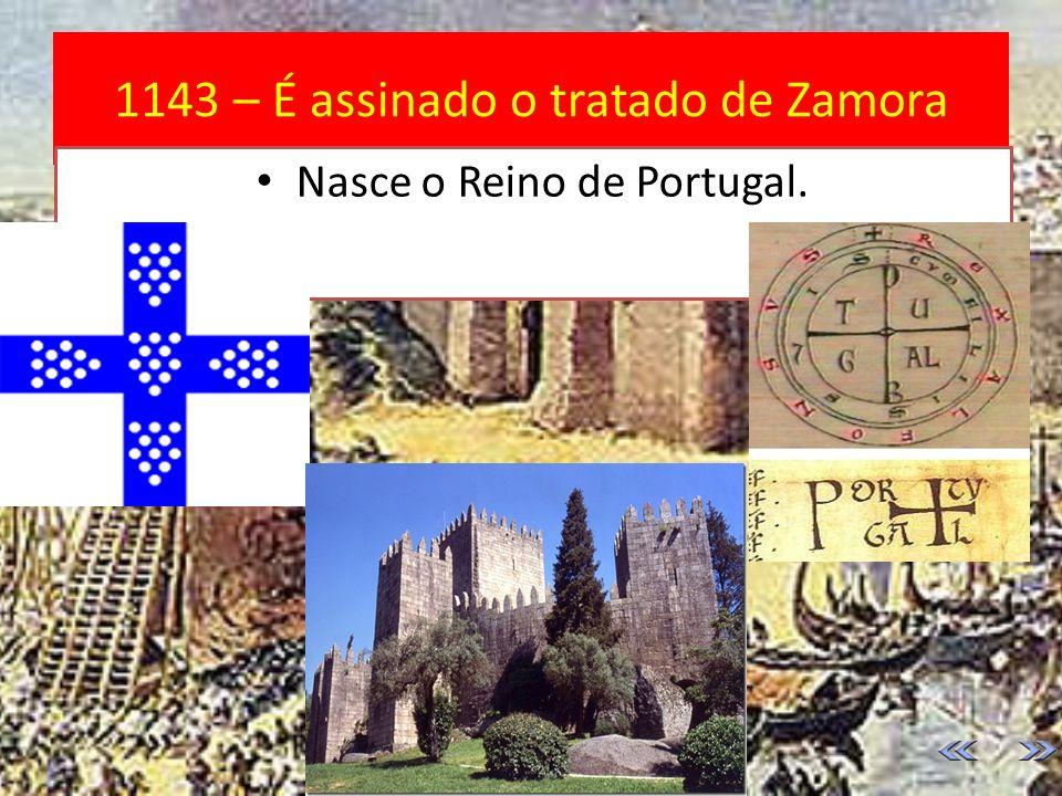 1139 – Batalha de Ourique D. Afonso Henriques vence 5 reis mouros. Em 1140, o seu exército vence o rei de Leão, que não queria a independência do Cond