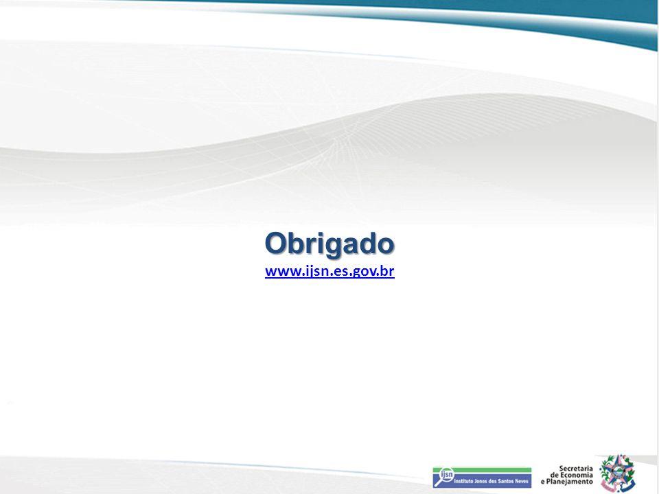 Obrigado Obrigado www.ijsn.es.gov.br www.ijsn.es.gov.br