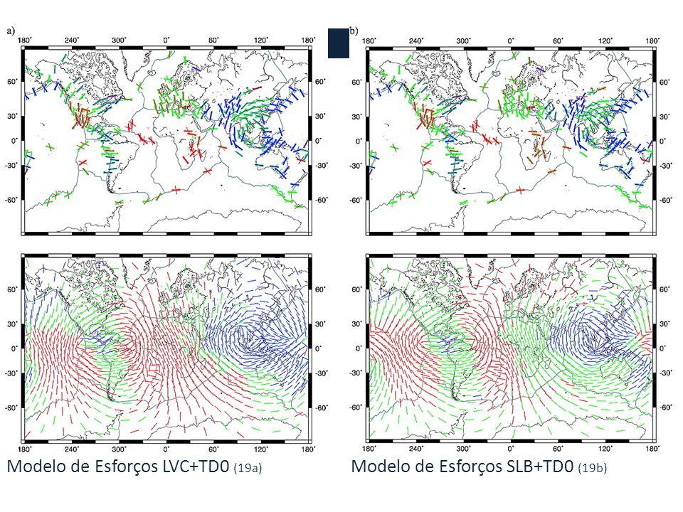Trações para o modelo TMG (15) Esforços para o modelo TD0 (16)
