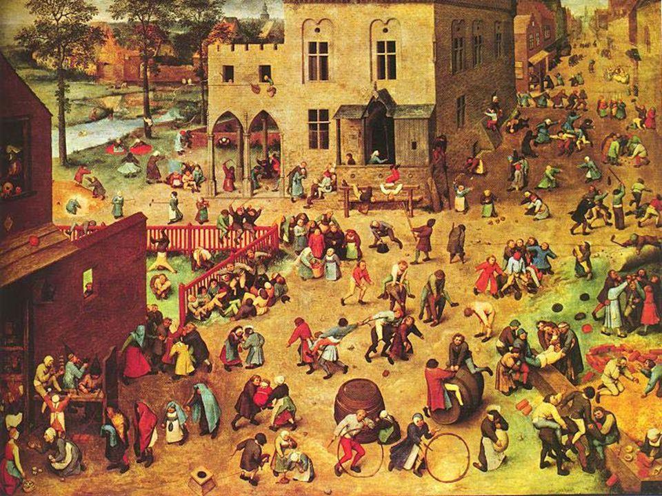 PHILIPPE ARIÈS Crianças são adultos em miniatura (roupas, expressões faciais), A arte medieval desconhecia a infância O sentimento de infância surge entre os séculos XIII e XVIII (temas religiosos.