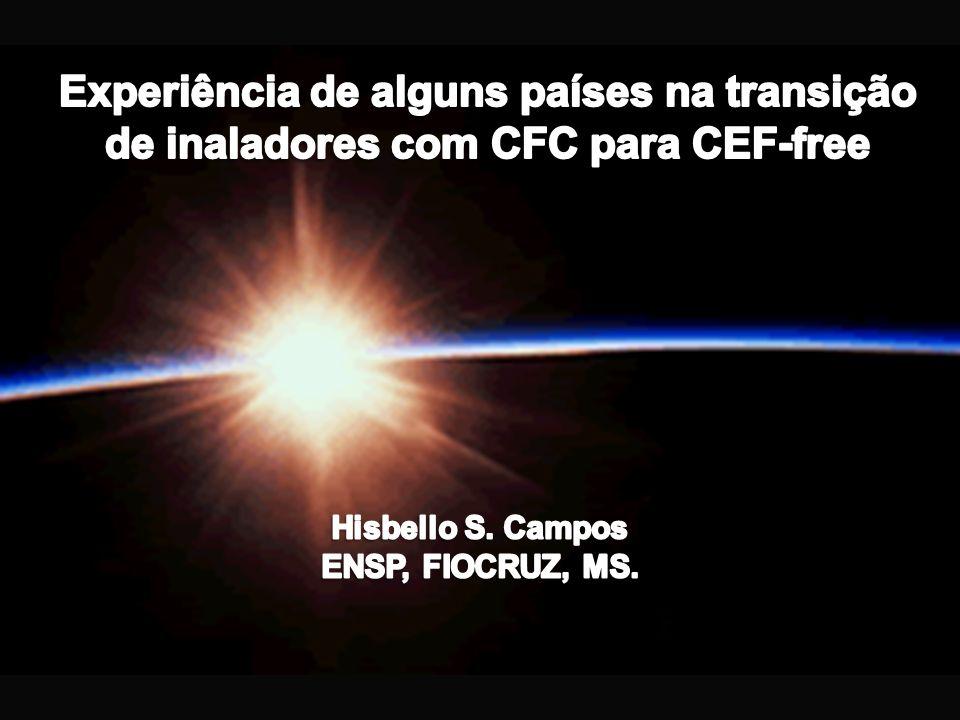 Critérios para determinar que alternativas suficientes são disponíveis: Molécula x molécula // Categoria x categoria Molécula x molécula: Salbutamol CFC = 2 alternativas Salbutamol CFC free.