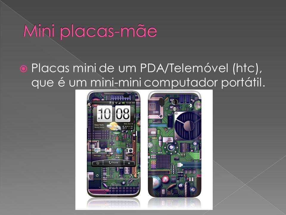 Placas mini de um PDA/Telemóvel (htc), que é um mini-mini computador portátil.