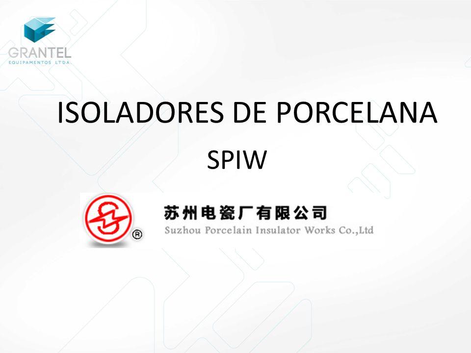 ISOLADORES DE PORCELANA SPIW