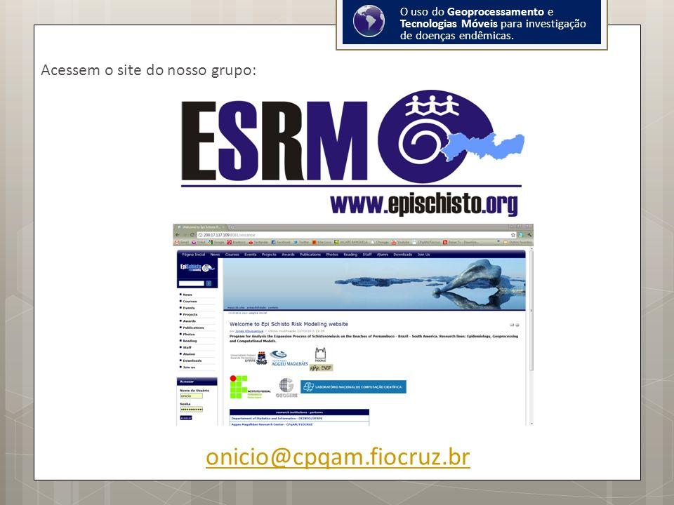 O uso do Geoprocessamento e Tecnologias Móveis para investigação de doenças endêmicas.