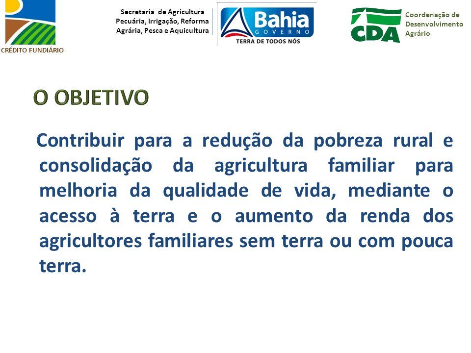 Coordenação de Desenvolvimento Agrário Secretaria de Agricultura Pecuária, Irrigação, Reforma Agrária, Pesca e Aquicultura CRÉDITO FUNDIÁRIO Necessária quando beneficiários desistem ou são excluídos do Programa BeneficiárioATERUTE Agente Financeiro Cartório