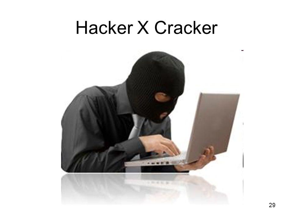 Hacker X Cracker 29
