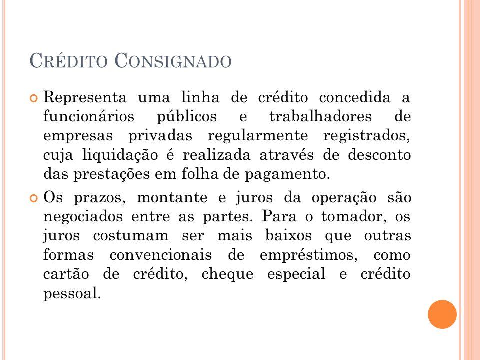 D ESCONTO DE D UPLICATAS No desconto, a instituição financeira concede um empréstimo mediante a garantia de um título representativo de um crédito futuro (duplicatas).