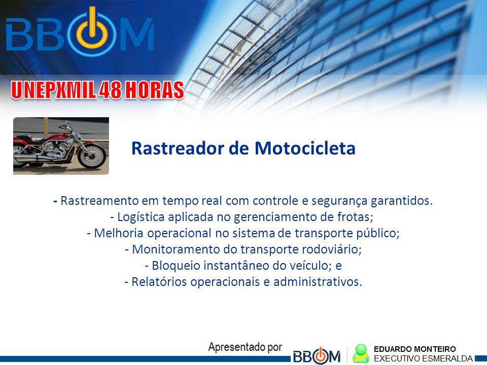 Rastreador de Motocicleta - Rastreamento em tempo real com controle e segurança garantidos. - Logística aplicada no gerenciamento de frotas; - Melhori