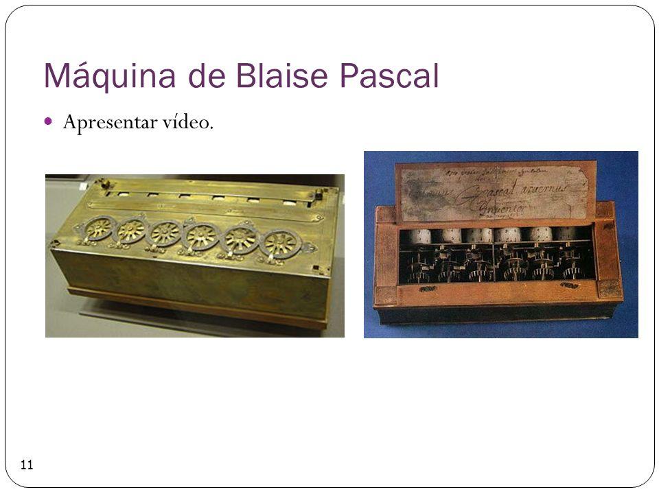Máquina de Blaise Pascal Apresentar vídeo. 11